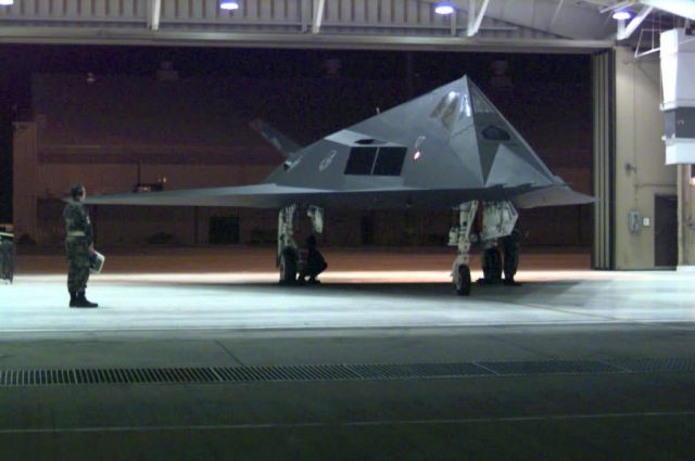 F-117 Stealth Fighter - Nighthawk at rest Picture