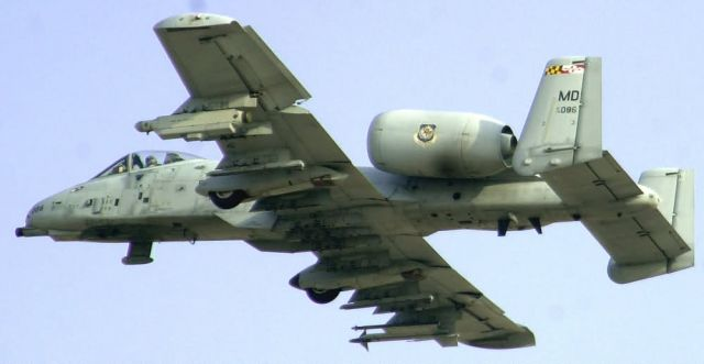 An A-10 Thunderbolt II - A-10 practice run Picture