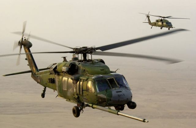 HH-60G Pave Hawks - Pave Hawks pair Picture
