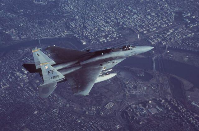 F-15C Eagle - Eagle eyes Picture