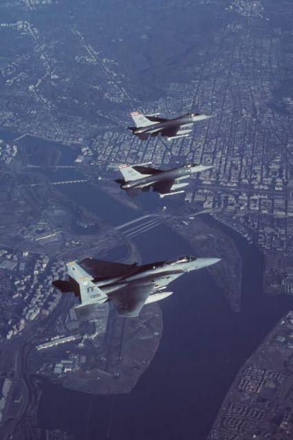 F-16A Fighting Falcons - F-16A Fighting Falcons Picture