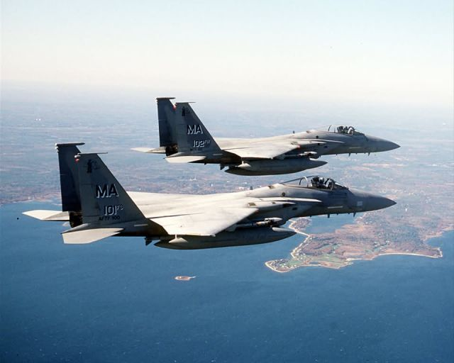 F-15 Eagles - Noble Eagles Picture