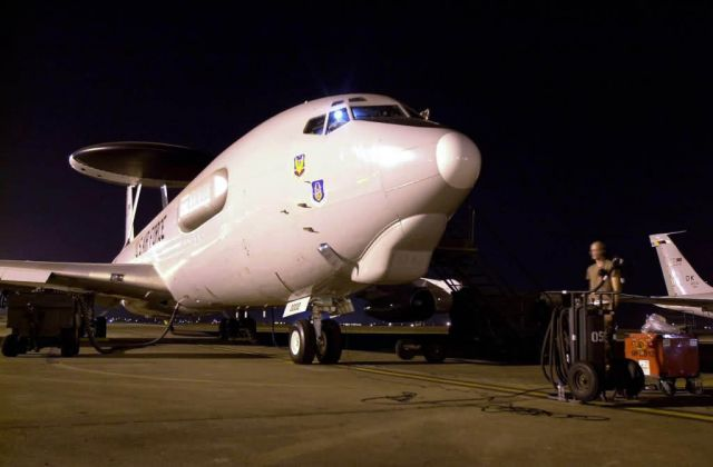 Air Warning and Control System - AWACS Support Picture