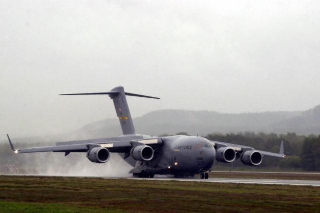 C-17 Globemaster III - Returning home Picture