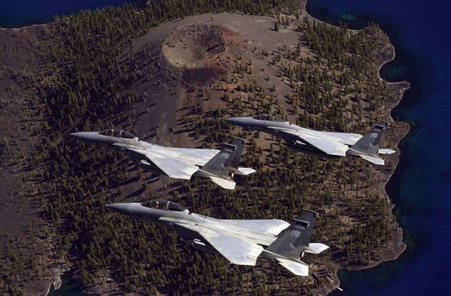 F-15 - Crater Lake run Picture