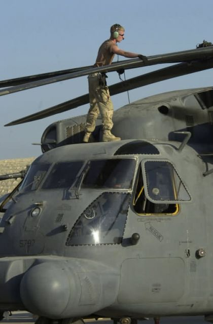 MH-53J Pave Low III - Blade check Picture