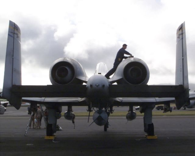 A-10 Thunderbolt II - Post-flight inspection Picture