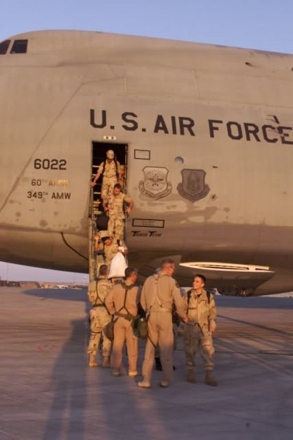 C-5 Galaxy - Welcome aboard Picture