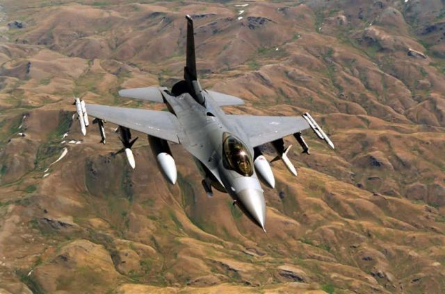 F-16 - Northern Watching Picture