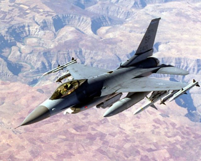 F-16 Fighting Flacon - F-16 Picture