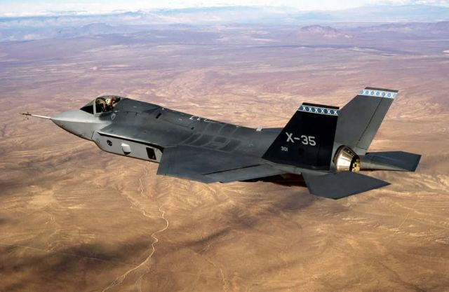 X-35A - Joint Strike fighter Picture