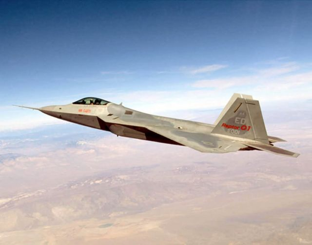 F/A-22 Raptor - F/A-22 Raptor Picture