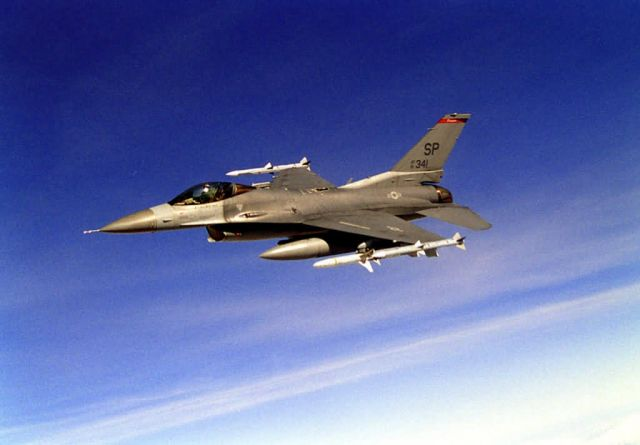 F-16CJ Fighting Falcon - Soaring Falcon Picture