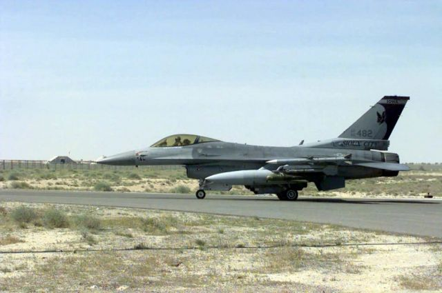 F-16 Fighting Falcon - A long way from home Picture