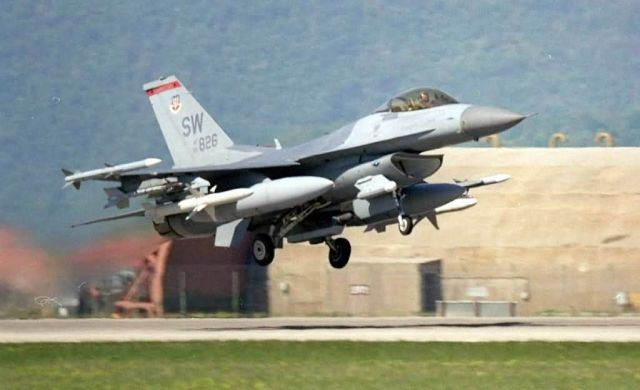 F-16 Fighting Falcon - Deployed Falcon Picture