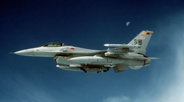 F-16C Fighting Falcon - Falcon moon Picture
