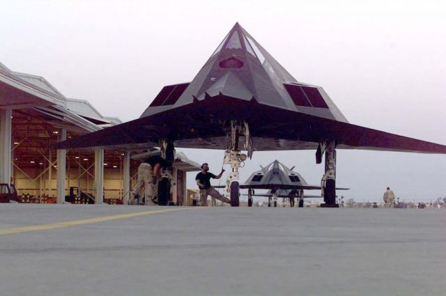 F-117 Nighthawks - Deployed Picture