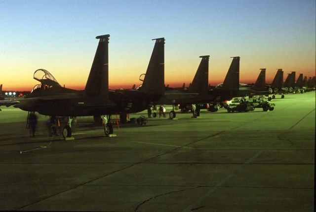 F-15 Eagle - Ramp time Picture