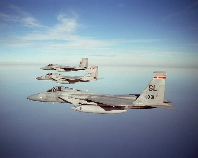 F-15A - Eagle trio Picture