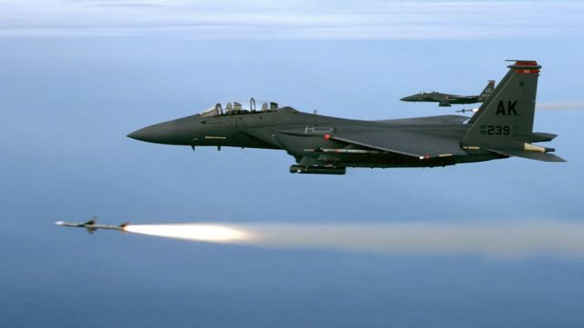 F-15E - Training mission Picture
