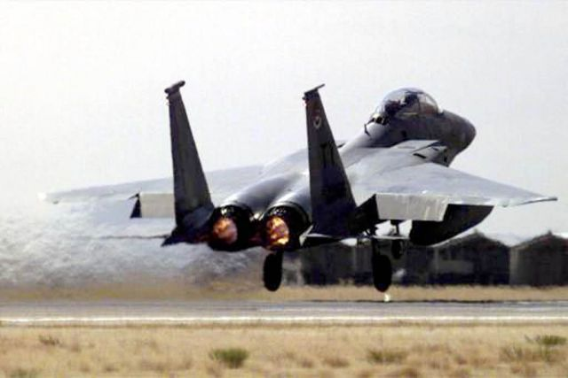 F-15 Eagle - Roving Sands Picture