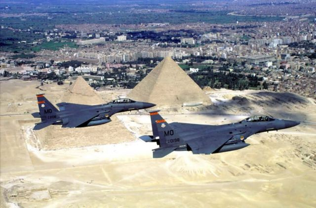 F-15E Strike Eagles - Wonders of the world Picture