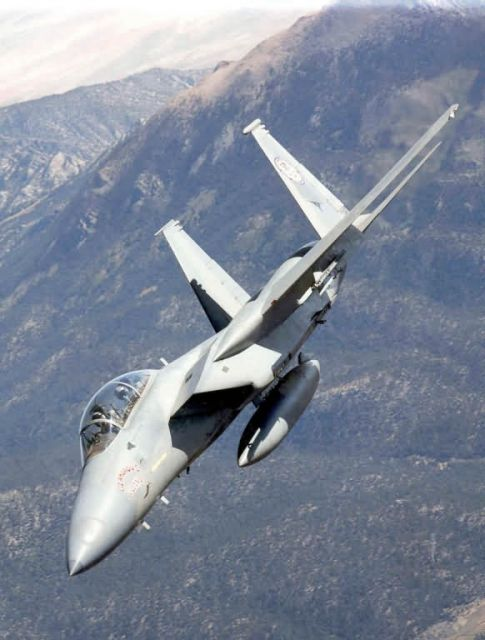 F-15 Eagle - Bank right Picture