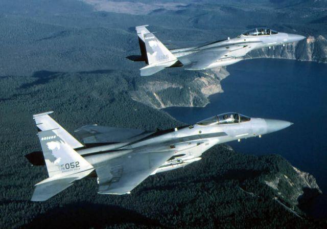 F-15 Eagle - Eagle twins Picture