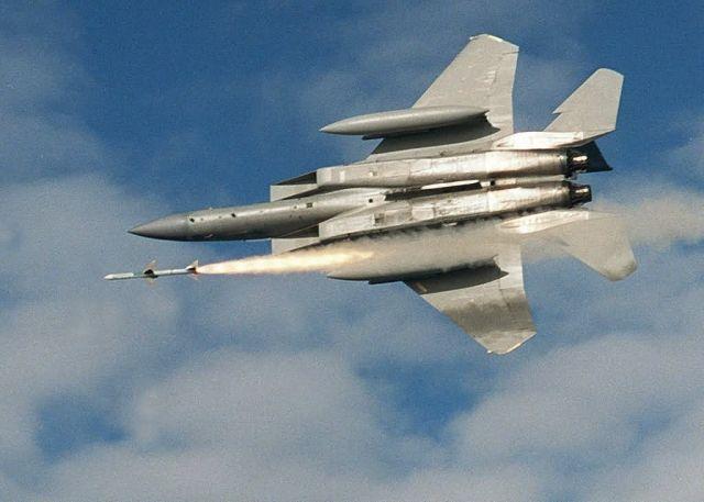 AIM-7 - Sparrow launch Picture