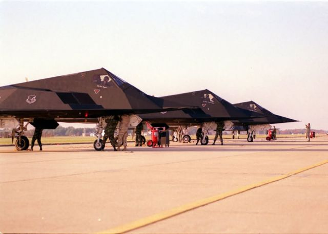 F-117 Nighthawks - Layover Picture