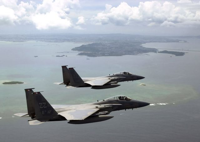 F-15C Eagle - Eagle pair Picture