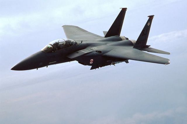F-15E Strike Eagle - Eagle flight Picture