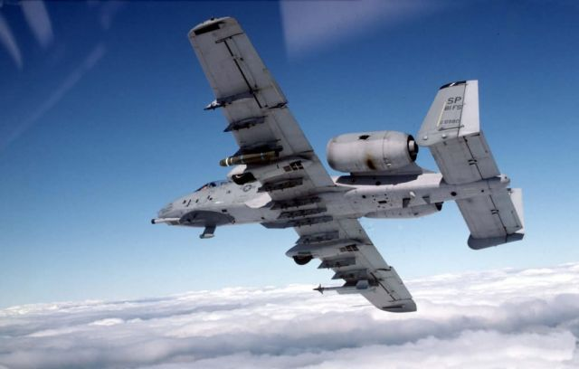 A-10 Thunderbolt II - Thunderbolt in flight Picture
