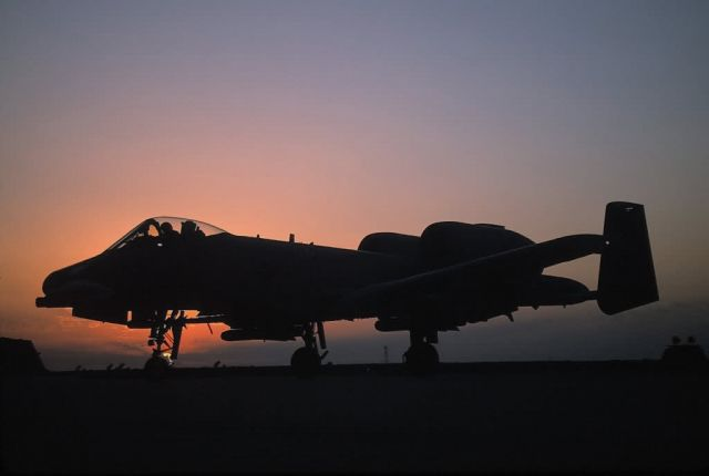 A-10 Thunderbolt II - A-10 Thunderbolt II at rest Picture