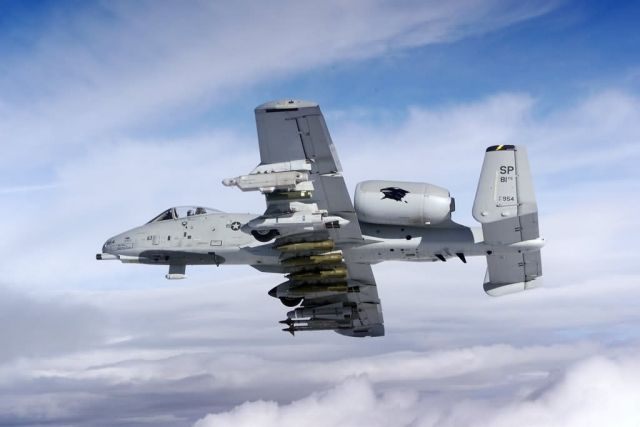 A-10 - A-10 in flight Picture