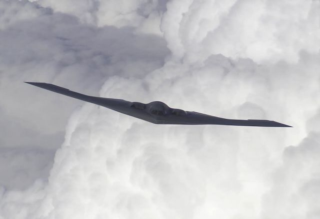 B-2 Spirit bomber - Spirit in the clouds Picture