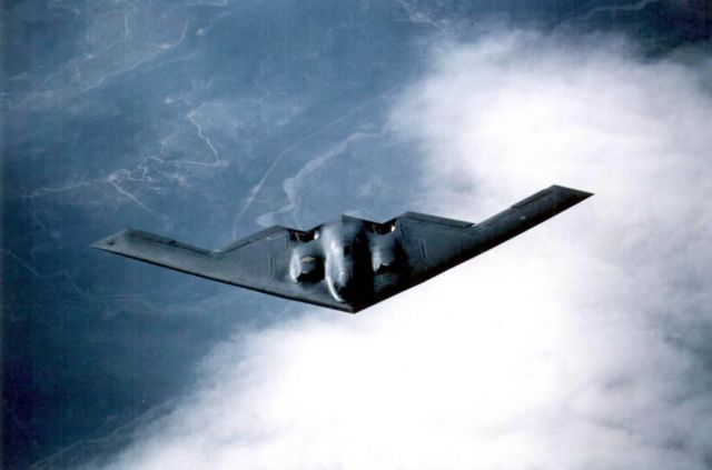 B-2 Spirit bomber - Blue skies ahead Picture