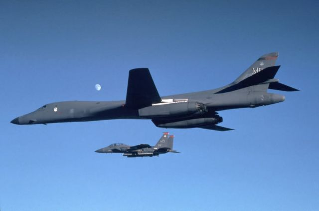 B-1B Lancer - Partners Picture