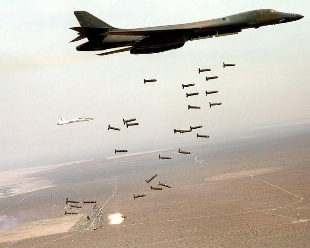 B-1B Lancer - Bombs away! Picture