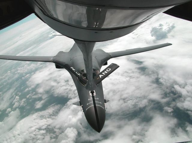 KC-135 Stratotanker - Refueling with a Fench flair Picture