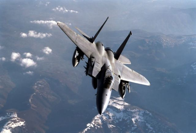 F-15C Eagle - Armed Eagle Picture