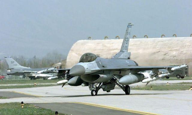 F-16C Fighting Falcon - Falcon returns Picture