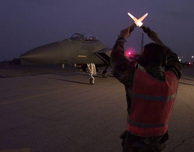 F-15E Strike Eagles - Successful return Picture