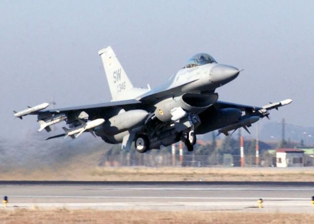 F-16 C/J Fighting Falcon - Take off Picture