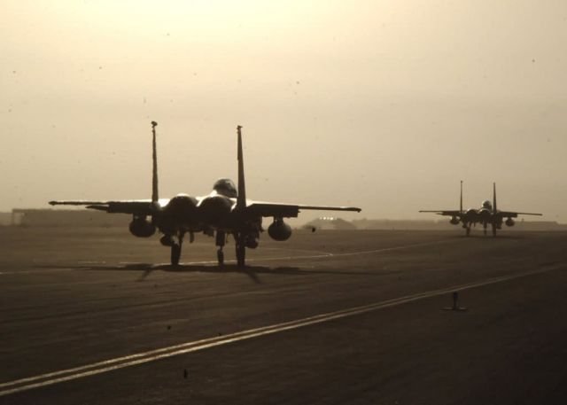 F-15E Strike Eagles - Deployed fighters Picture