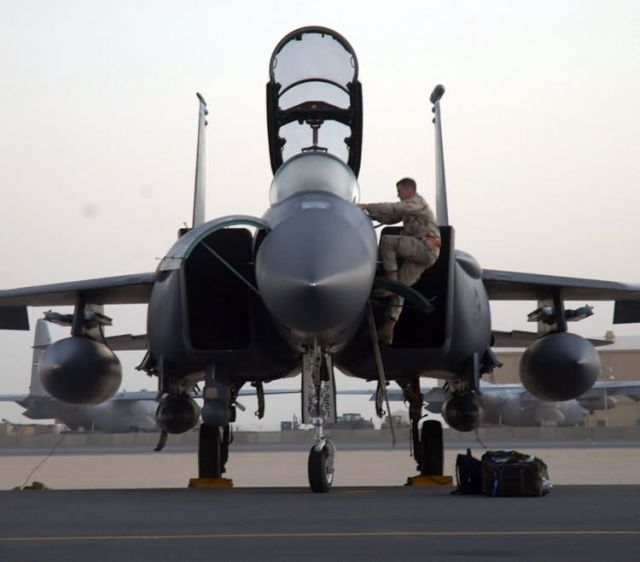 F-15E Strike Eagle - Deployed fighters Picture