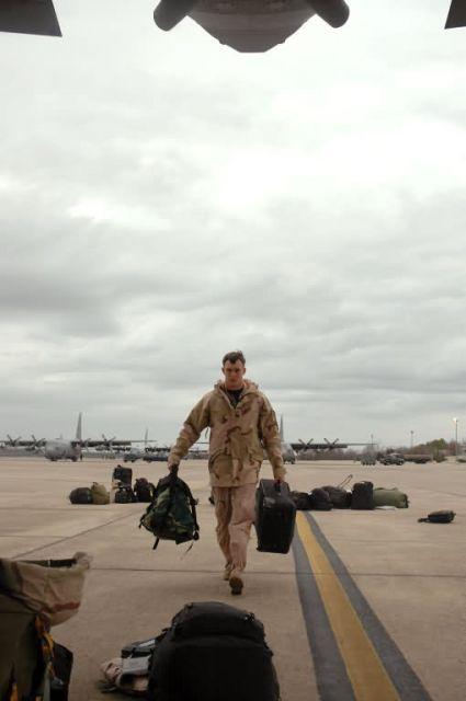 C-130 Hercules - Little Rock deployment Picture