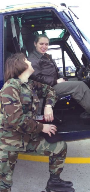 UH-1N - Mother, daughter reunite Picture