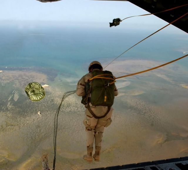 HC-130 - Over Africa Picture