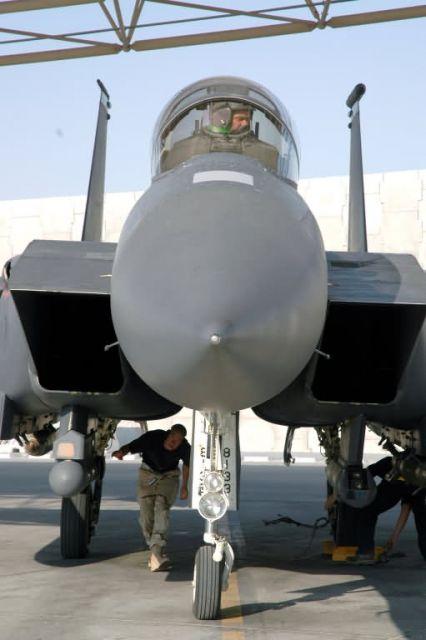 F-15E - Back home again Picture